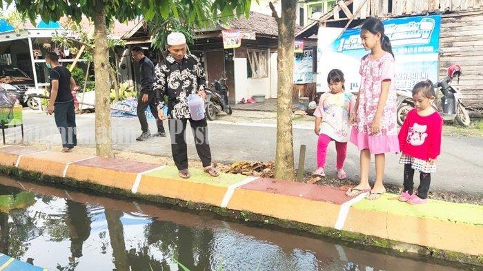 Wisata Kalsel, Ada Berbagai Jenis Ikan di Taman Iwak Gang AA Bungas Banjarmasin