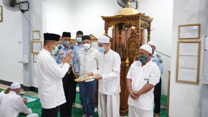 674 Warga Binaan Lapas Karang Intan Dapat Remisi Khusus, 7 Orang di Antaranya Remisi Plus Subsider