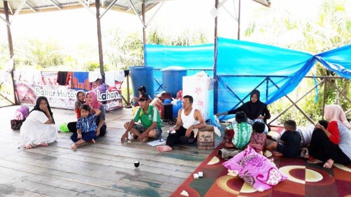 Sempat Terkendala Banjir, Penduduk Desa Trans Lajar Papuyuan Balangan Akhirnya Bisa Keluar Desa