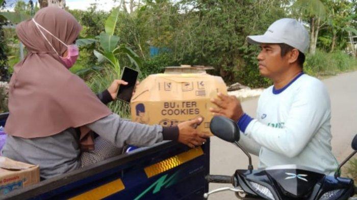 Warga Batola Ramai-ramai Kumpulkan Donasi Korban Banjir di Katingan Kalteng