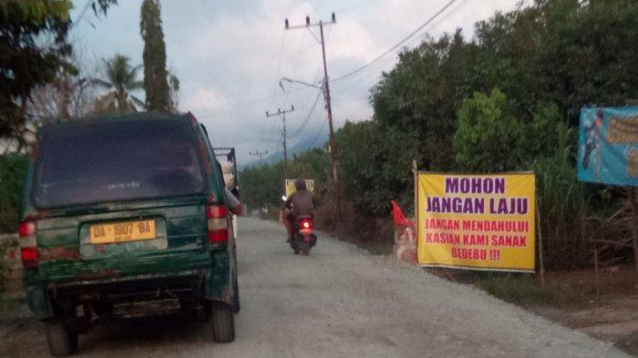 Jalur Alternatif Atilam-Kunyit Kian Berdebu Pusingkan Warga, DPRD Tala Sarankan Hal ini pada Pemkab