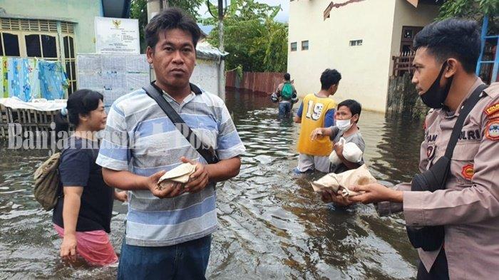 Kalsel Berstatus Siaga Satu Banjir, Ini Respons Pemerintah Kota Banjarmasin