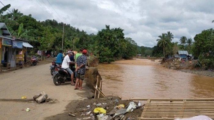 EWS di Sungai Alat Hilang Terbawa Arus, HST Butuh Pendeteksi Banjir