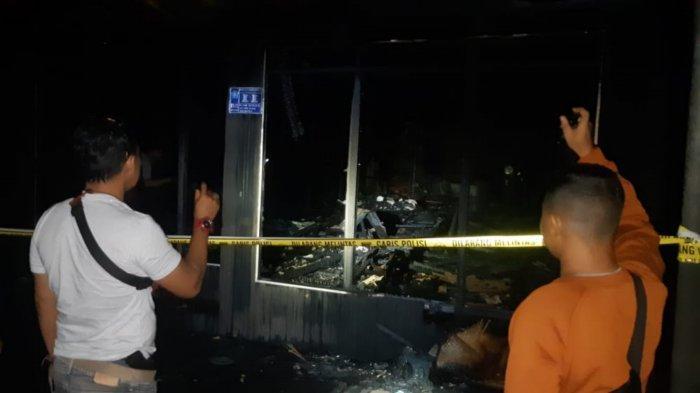 Kebakaran di Kalsel, Tak Hanya Tiga Rumah, Api di Anjir Pasar Batola Juga Lumat Dua Sepeda Motor
