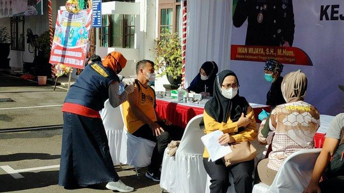 HUT ke-61 Adhiyaksa, Kejaksaan Kalteng Siapkan 10 Ribu Vaksin untuk Masyarakat