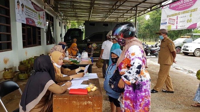 Konversi Elpiji Melon di Kabupaten Tanahlaut Dilanjutkan ke Luar Kota Pelaihari