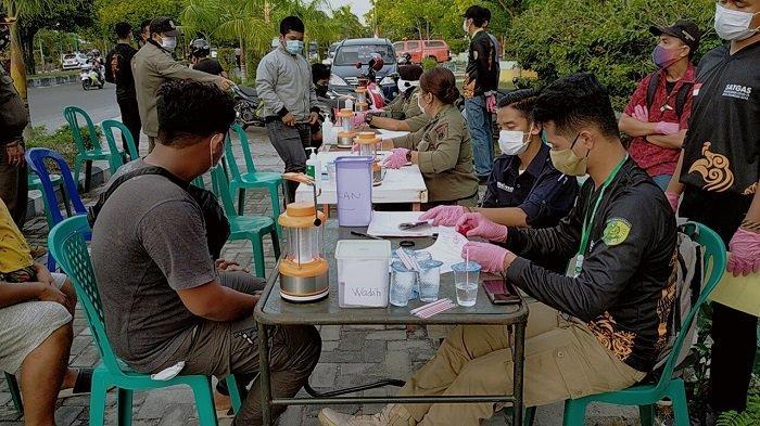 Operasi Yustisi Berlanjut, 66 Pengedara di Jalan RTA Milono Tak Pakai Masker Kena Sanksi