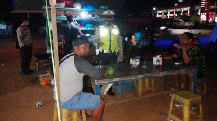 Petugas Polsek Banjarbaru Timur Masih Temukan Warga Tak Menerapkan Prokes