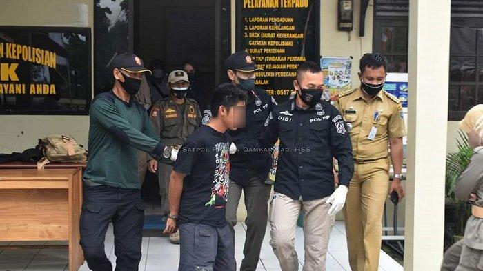 Pukul Kerabat Sendiri, Pria HSS Ini Diamankan Polisi ke Bangsal Jiwa, Ternyata ODGJ