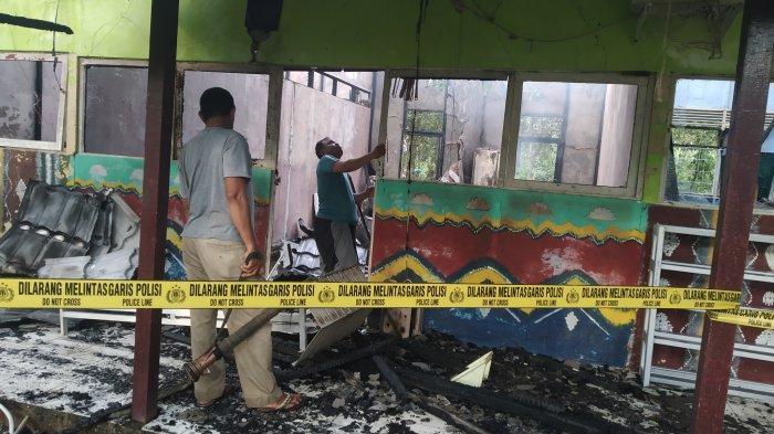 Kebakaran di Kalsel, Delapan Ruangan SMA 1 Marabahan Terbakar Diduga Korsleting Listrik