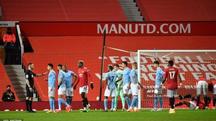 Link Live Streaming Derby Manchester United vs Man City di TV Online Carabao Cup, Ditunggu Spurs