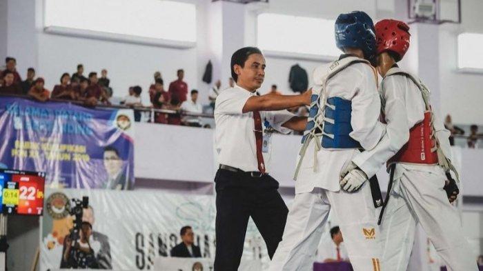 Satu Wasit Taekwondo  Kalsel  Dipilih PBTI Untuk Memimpin Pertandingan di PON Papua 2021