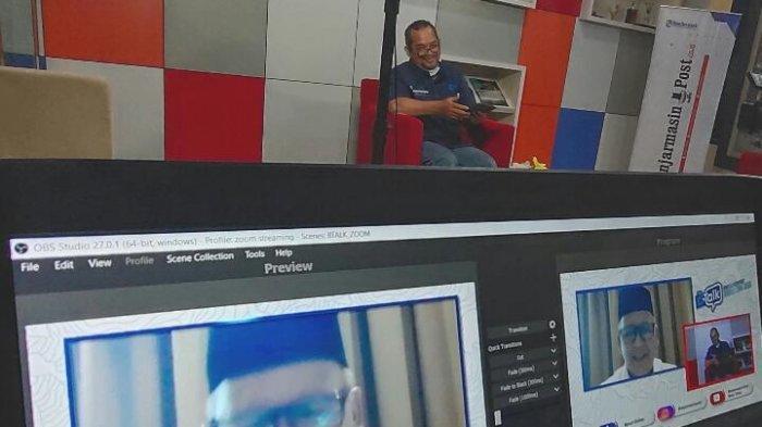 wawancara ekslusif dengan Kakanwil Kenmenag Kalsel Drs H Noor Fahmi seputar haji