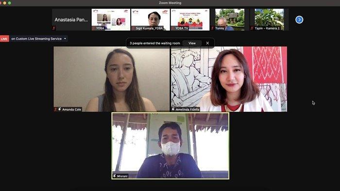 Petani Millenial Kabupaten Tapin Jadi Model di Webinar Nasional UMKM YDBA