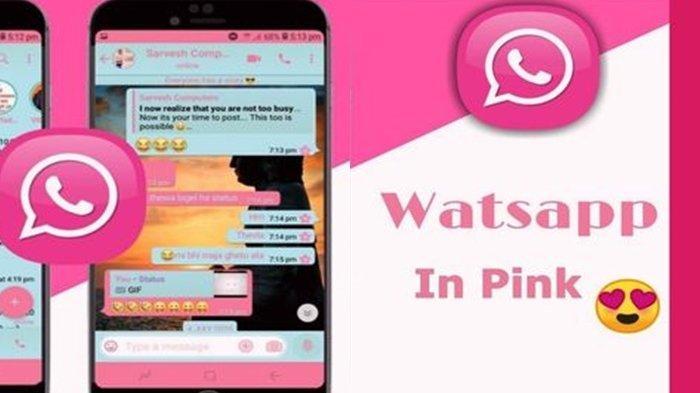Waspada Jebakan WhatsApp Pink, Modus Aplikasi Palsu Pembobol Data