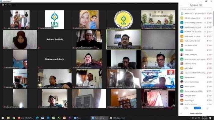 FEBI UIN Antasari Gelar Webinar Nasional, Bahas Tema Kurikurum Menuju Era Kampus Merdeka