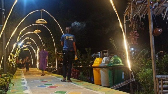Wisata Kalsel - Lagi Hits, Begini Indahnya Wisata Alam Kuin Kacil di Ujung Banjarmasin