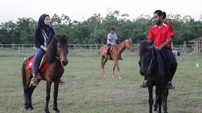Wisata Kalsel, Jabal Diamond Horse Riding Banjarbaru Miliki 7 Kuda, Diantaranya Impor