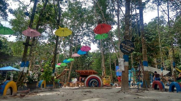 Wisata Taman Burung Hutan Kota, Destinasi Wisata Ini Hanya 3 Km dari Perkantoran Pemkab Tabalong
