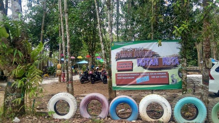 Wisata Edukasi, Oke Banget Bawa Anak-anak ke Taman Burung Hutan Kota Tabalong