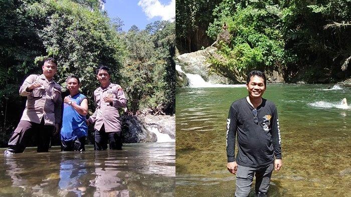 Wisata Kalsel : Sempat Ramai Tahun 2016, Air Terjun Buntar Sungainya Bagaikan Kolam Pemandian