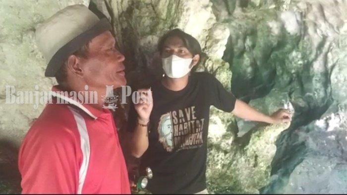 Wisata Kalsel, Ada Pemandu Susur Goa Liang Bangkai Mantewe Kabupaten Tanbu