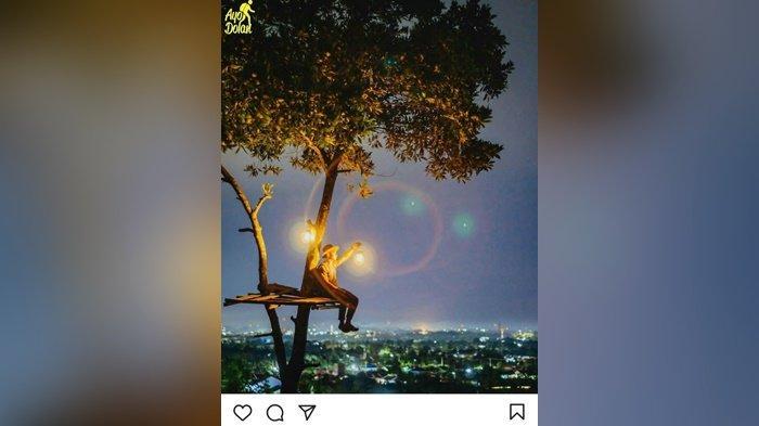 Wisata Kalsel,  Mau ke Bukit Lentera Banjarbaru, Bisa Nikmati Kuliner di Pinggir Jalan