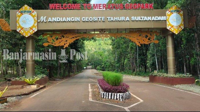 Wisata Kalsel, Jumlah Pengunjung Tahura Sultan Adam Mandiangin Kabupaten Banjar Dibatasi