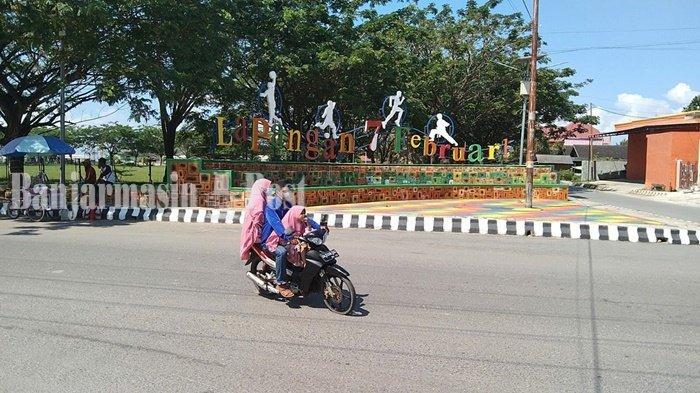 Wisata Kalsel, Tugu dan Taman 7 Februari Pagatan Kabupaten Tanbu Makin Indah