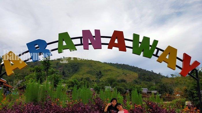 Wisata Kalsel: Obyek Wisata Aranaway, Wajah Baru Semakin Ramai Pengunjung