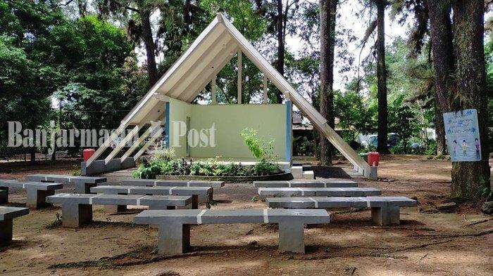 Wisata Kalsel, Sewa Panggung Hanya Rp 500 Ribu di Hutan Pinus Kota Banjarbaru