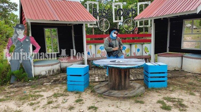Wisata Kalsel, Pengunjung Danau Biru di Banjarbaru Bisa Nikmati Sensansi ala Cowboy