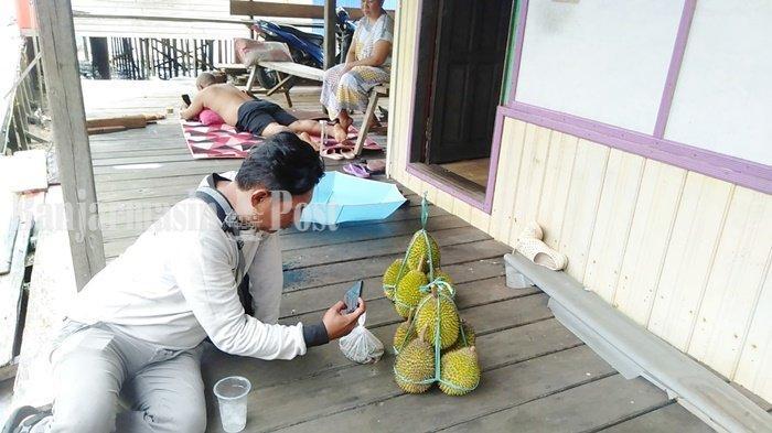 Wisata Kalsel, Selagi Beruntung Bisa Makan Banyak Buah di Pulau Burung Kabupaten Tanbu