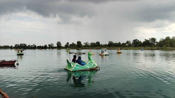 Wisata Kalsel, Rumah Pohon di Danau Seran Salah Satu Spot Foto