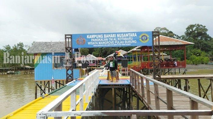 Wisata Kalsel, Hutan Mangrove dan Kebun Buah di Pulau Burung Kabupaten Tanbu