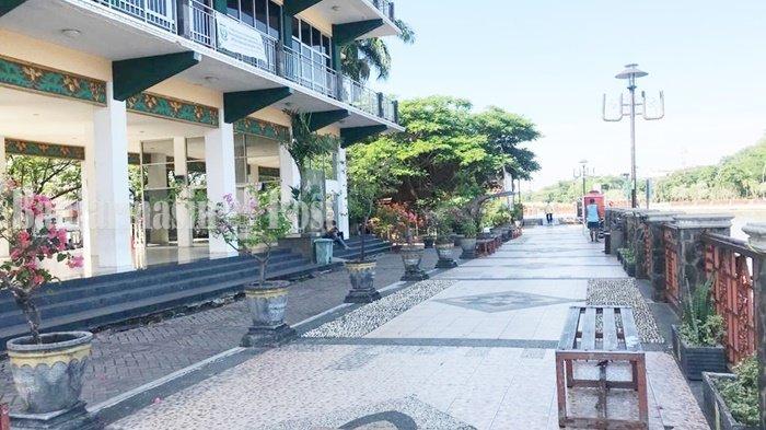 Wisata Kalsel, Lantai Dasar Menara Pandang Banjarmasin Kerap Ajang Kumpul Komunitas