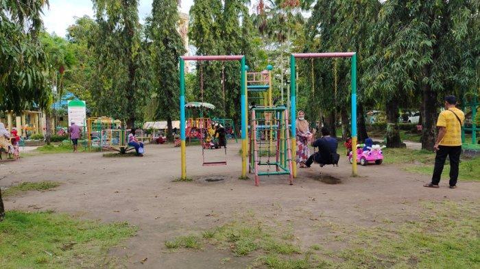 Wisata Kalsel, Taman CBS Martapura Menyediakan Wahana Bermain Anak
