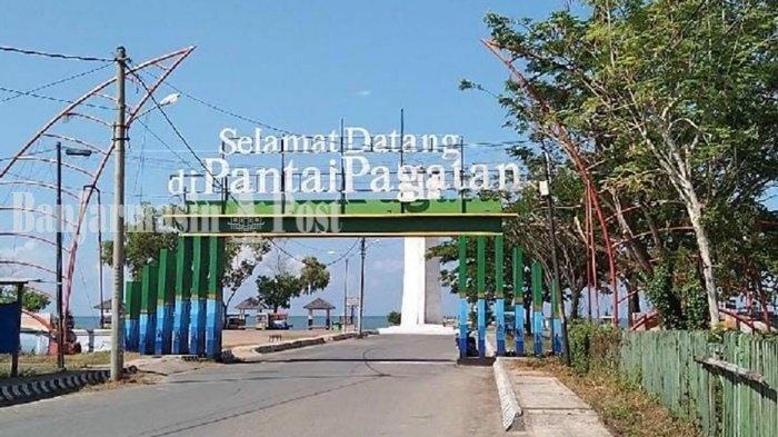 Wisata Kalsel, Pantai Cantik Tak Jauh dari Kompleks 7 Februari Pagatan Kabupaten Tanbu