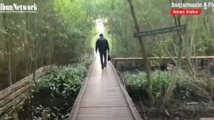 VIDEO Wisata Kalsel, Menikmati Keindahan Alam di Ekowisata Mangrove Pagatan Besar