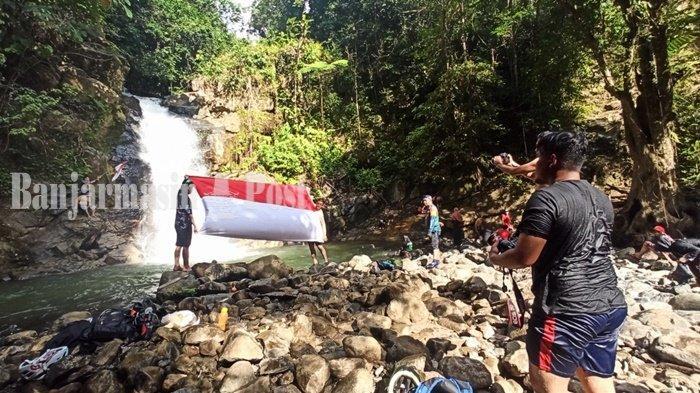 Wisata Kalsel, Air Terjun Tumaung Keindahan Tersembunyi di Meratus Kabupaten HST