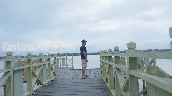 Wisata Kalteng, Berburu Sunset dari Taman Sumbu Kurung Kabupaten Pulang Pisau