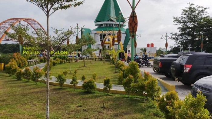 Wisata Kalteng, Masjid Darul Amin di Taman Pasuk Kameloh Mudahkan Pengunjung Beribadah