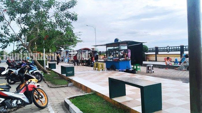 Wisata Kalteng, Taman Sumbu Kurung Pulang Pisau Sering Jadi Tempat Pertemuan Komunitas