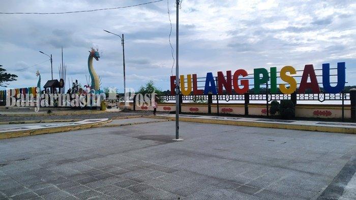 Wisata Kalteng, Monumen Ikonik di Taman Sumbu Kurung Kabupaten Pulang Pisau