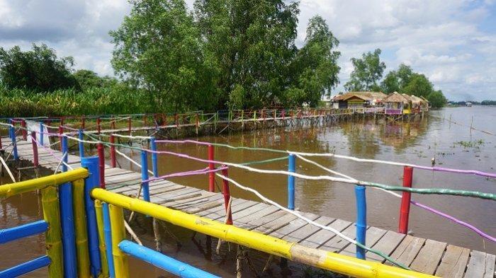 Pesona Wisata Kalsel : Berkunjung ke Lampau Rumpiang, Destinasi Baru di Marabahan Batola