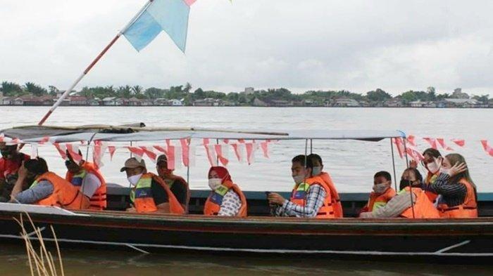 Wisata Kalteng, Bisa Susur Sungai saat Sport and Culture Tourism Kapuas
