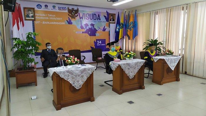 UT Banjarmasin Gelar Wisuda Daring Nasional, 12 Wisudawan Ikut dari Luar Negeri