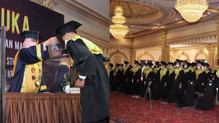 69 Mahasiswa Stikes Intan Martapura Prodi Diploma III Keperawatan Diwisuda