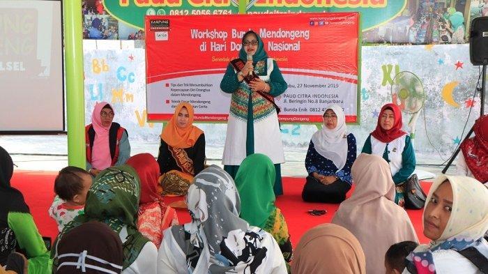 Workshop Mendongeng di PAUD Citra Indonesia, Enik Mintarsih : Orangtua Diharapkan Bisa Mendongeng