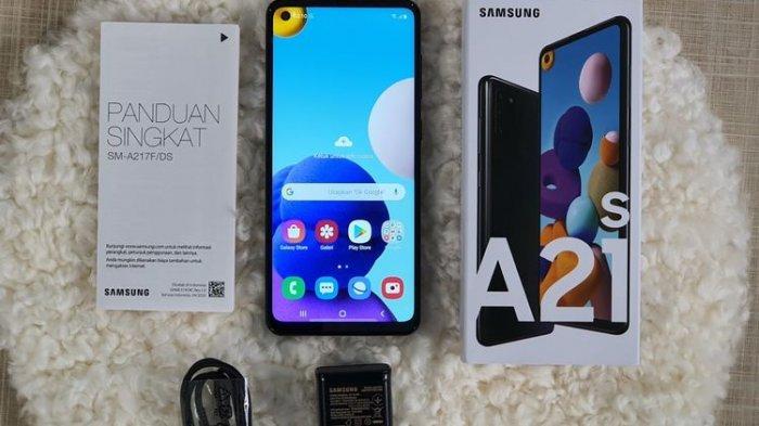 Wujud Samsung Galaxy A21s